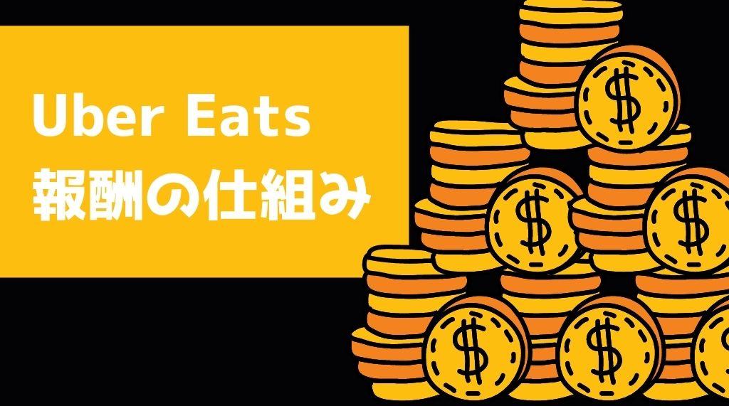Uber Eats(ウーバーイーツ)報酬の仕組み